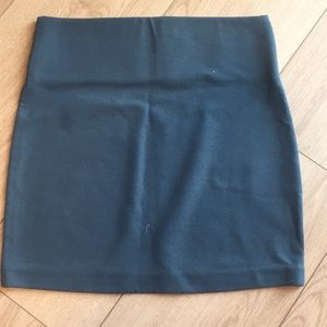 BCBGeneration Skirts - BCBGeneration Slate Blue Mini Skirt